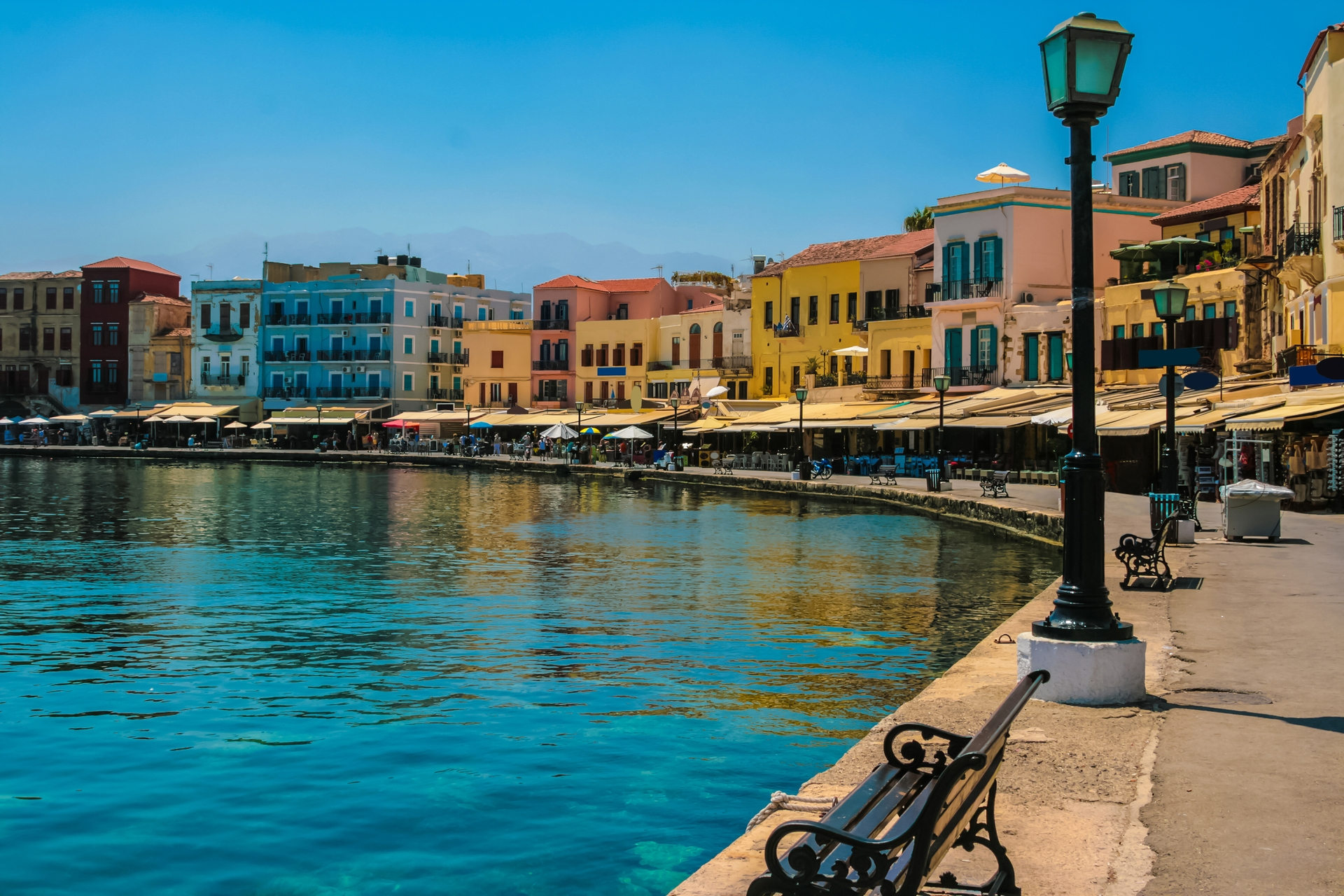 Taxi transfer from Chania airport / port to Chania City