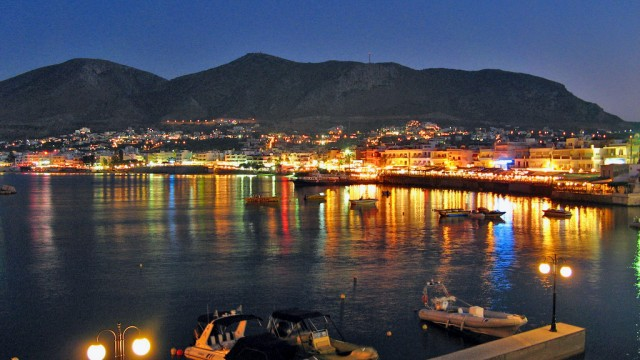 Taxi transfer from Heraklion airport / port to Hersonissos