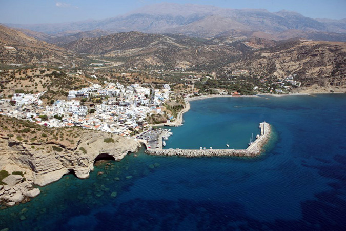 Taxi transfer from Heraklion airport / port to Agia Galini