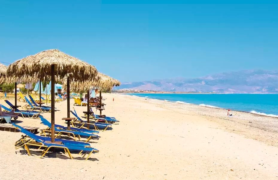 Taxi transfer from Heraklion airport / port to Maleme