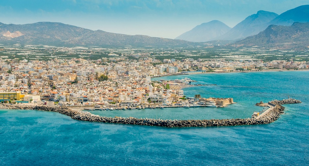 Taxi transfer from Heraklion airport / port to Ierapetra