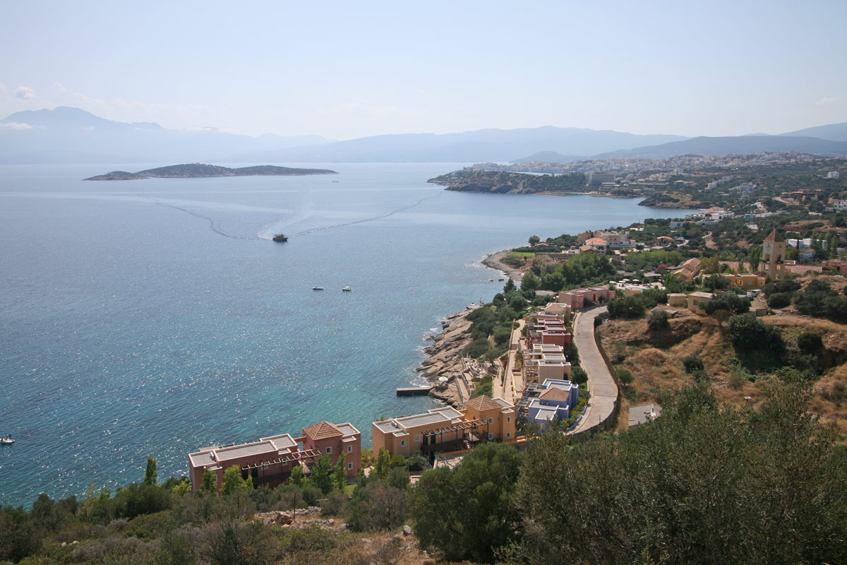 Taxi transfer from Heraklion airport / port to Plaka Elounda