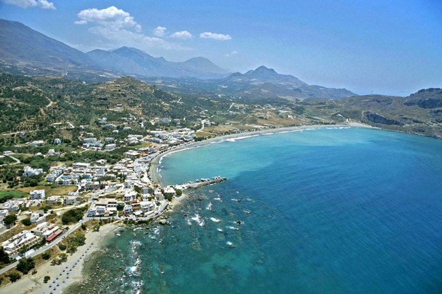 Taxi transfer from Heraklion airport / port to Plakias