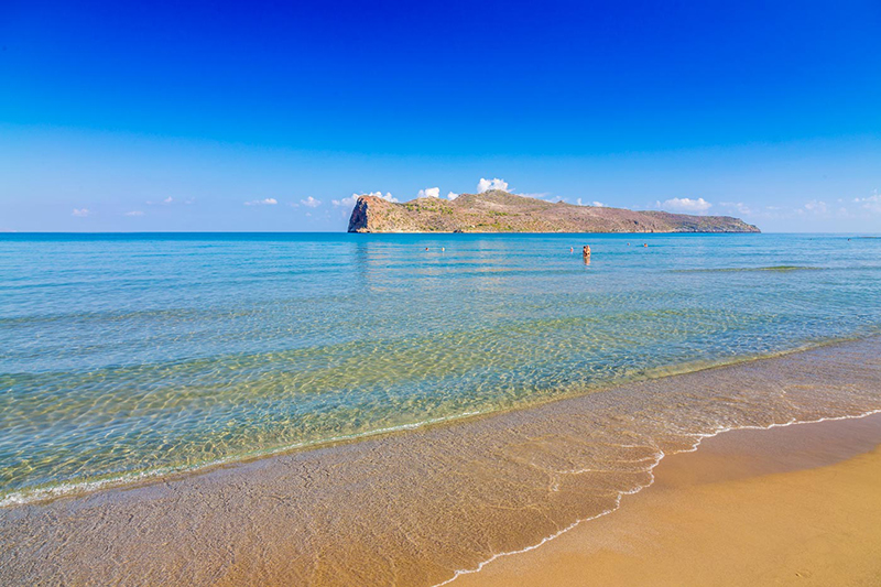 Taxi transfer from Heraklion airport / port to Agia Marina