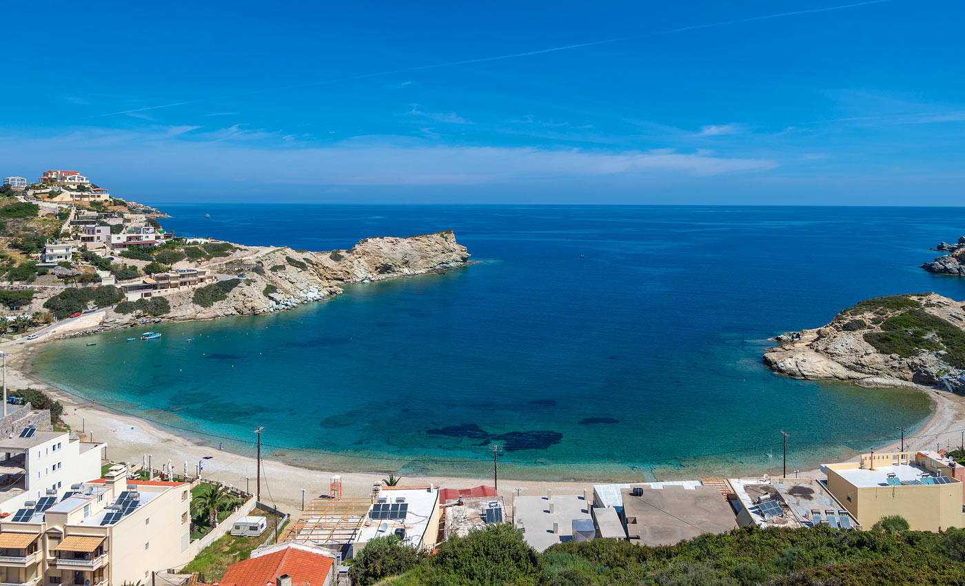 Taxi transfer from Heraklion airport / port to Agia Pelagia