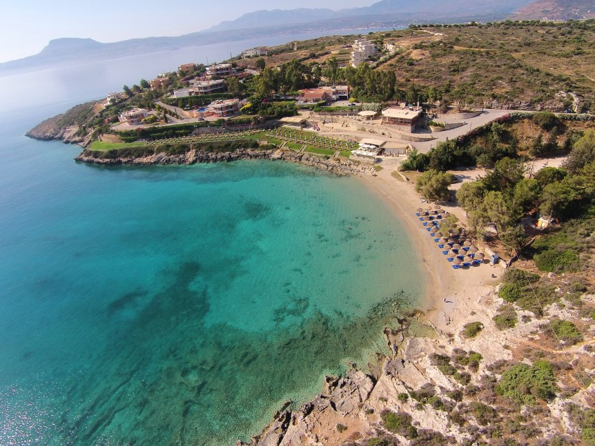 Taxi transfer from Heraklion airport / port to Marathi (Chania)