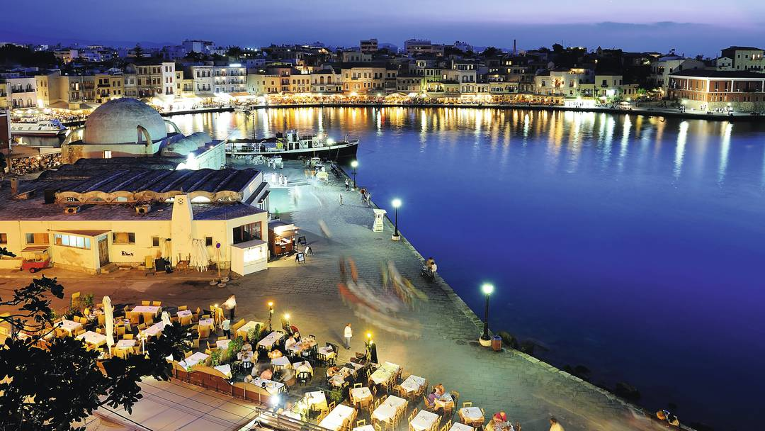 Taxi transfer from Heraklion airport / port to Gerani Chania