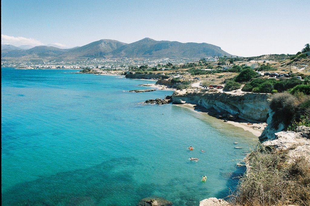 Taxi transfer from Heraklion airport / port to Anissaras, Anissaras