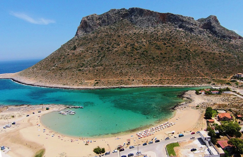 Taxi transfer from Heraklion airport / port to Stavros