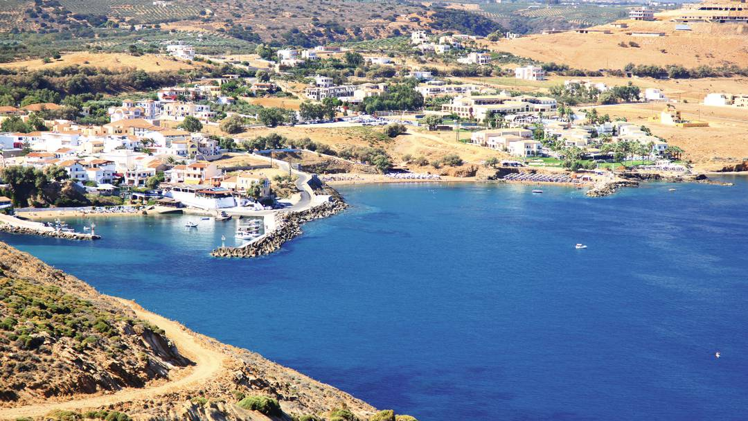 Taxi transfer from Heraklion airport / port to Panormos